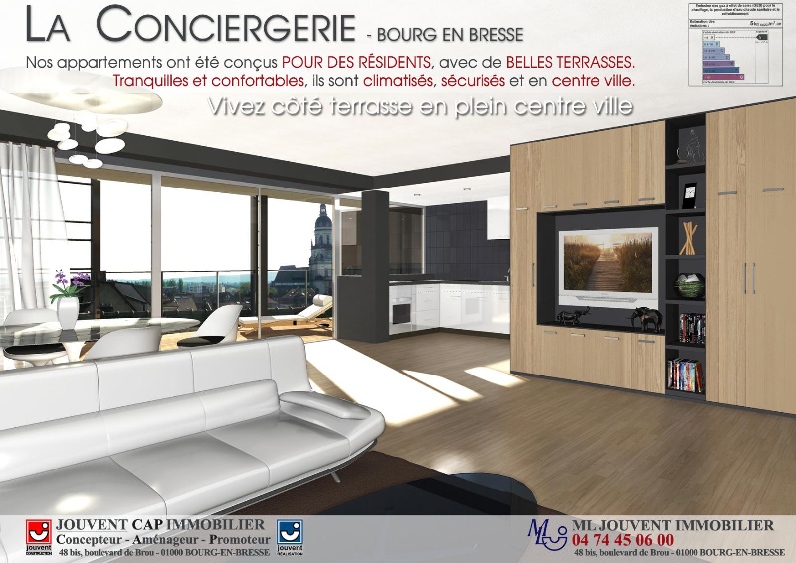 Annonce vente appartement bourg en bresse 01000 40 m for Meubles bourg en bresse